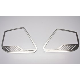 C7 2014-2018 Corvette Door Speaker Trim Rings w/Corvette Lettering