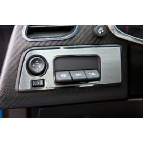 2014-2019 C7 Corvette Mirror/HUD Control Trim Plate