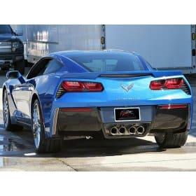 2014-2019 C7 Corvette Rear Taillights Laser Mesh Grilles