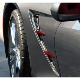 2014-2019 C7 Corvette Painted Retro Side Spears Package