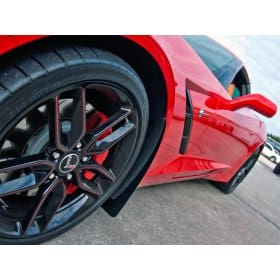 2014-2019 C7 Corvette Stainless Steel/Carbon Splash Guards