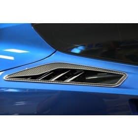 2014-2019 C7 Corvette 10pc Rear Quarter Panel Vent Carbon