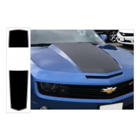 2010-2013 Camaro Over The Car Stripe Kit Convertible Solid With Pinstripe