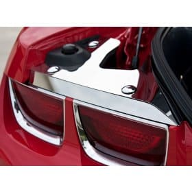2010-2013 Camaro Polished Stainless Steel Trunk Plates