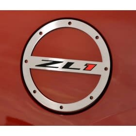 2010-2015 Camaro ZL1 Fuel Door Brushed Stainless Steel
