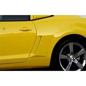 2010-2015 Camaro Xenon Painted Body Color Fender Scoops