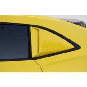 2010-2015 Camaro Xenon Painted Quarter Window Scoops