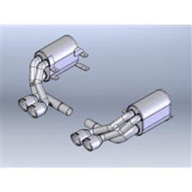 Borla 911 (Carrera) Stainless Steel Cat-Back System (05-08) 1402