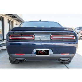 2015-2017 Dodge Challenger Stainless Steel Tail Light Trim