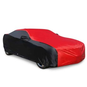 2010-2015 Camaro Ultraguard Car Cover - Indoor/Outdoor Red/Black