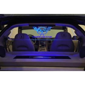C5 Corvette WindRestrictor Glow Panel for Coupe