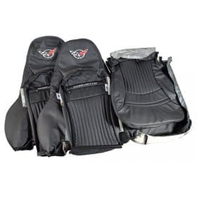 C5 Corvette Replacement Embroidered Leather Sport Seat Covers