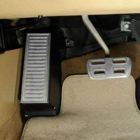 C5 and C6 Corvette Aluminum Dead Pedal