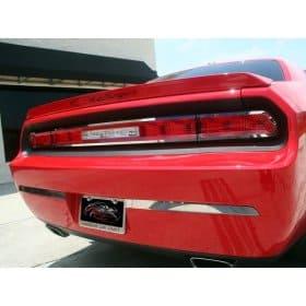 2008-2014 Dodge Challenger Stainless Steel Bumper Inserts