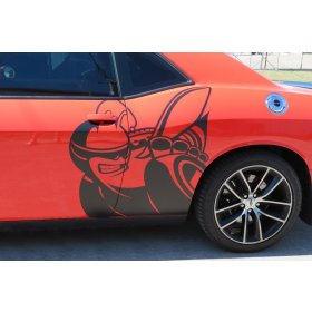 2008-2018 Dodge Challenger Super Bee Side Graphic Package