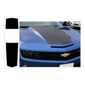 2010-2013 Camaro Over The Car Stripe Kit Coupe Solid with Pinstripe Style
