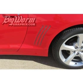2010-2015 Camaro Side Gill Insert Kit