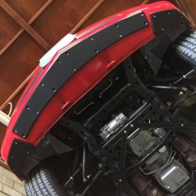 2010-2015 Camaro SS ProTEKt Custom Fit Front Bumper Skid Plates