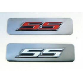 2010-2015 Camaro SS Stainless Steel Engine Badge