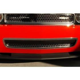 2011-2014 Dodge Challenger Polished Lower Grille Trim Ring