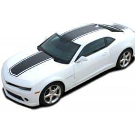 2014-2015 Camaro Bee 3 Hood Roof and Deck Stripe kit