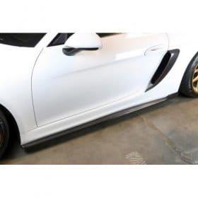 2015-2017 Porsche Cayman GT4 Side Rocker Extensions