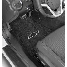 2016-2018 6th Generation Camaro Bowtie  Logo Front Floor Mats