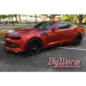 2016-2018 Camaro Side Accent Stripe Kit