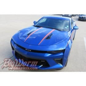 2016-2018 Camaro Hood Spears Stripe Kit