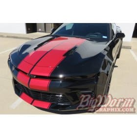 2016-2018 Camaro Twin Full-Length Stripes Kit
