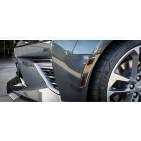 2016-2018 Camaro Side Marker Blackouts with Stainless Steel Trim