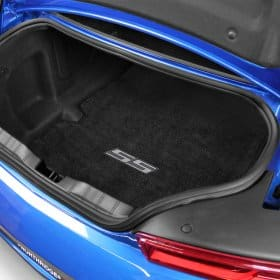 2016-2018 Camaro Silver SS Logo Trunk Compartment Cargo Mat