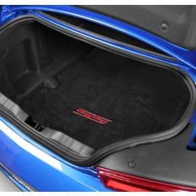 2016-2018 Camaro SS RED Logo Trunk Compartment Cargo Mat