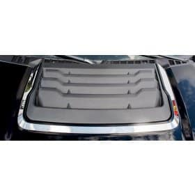 2017 Ford Raptor Hood Vent Trim Polished Stainless