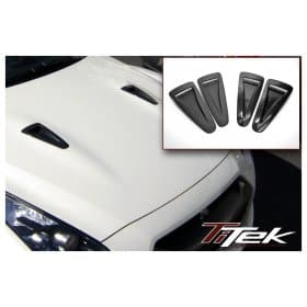 Nissan GT-R R35 Carbon Fiber Hood Ducts