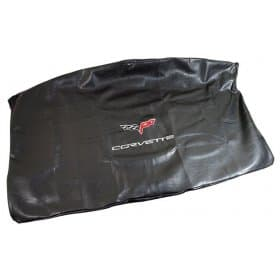 C6 Corvette Embroidered Top Bag Black w/ Silver C6 Logo