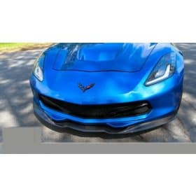2014-2019 C7 Corvette ACS Front Splitter with Deflectors Carbon Fiber