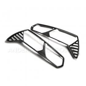 2014-2019 C7 Corvette Carbon Fiber Taillight Bezels