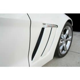 C6 Corvette Blakk Stealth Laser Mesh GS Side Vent Inserts