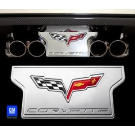 C6 Corvette Billet Exhaust Plate