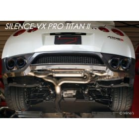 Nissan GT-R Silence VX Pro Titan II Exhaust System
