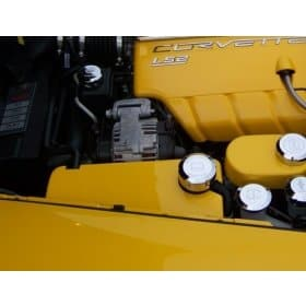 C6 Corvette Painted Surge Tank Cover (Coolant Cover)