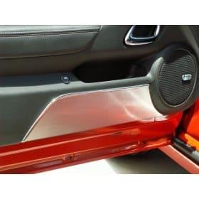 2010-2015 Camaro Door Kick Plates CAMARO Lettering