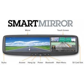 Escort smart mirror 1 corvette radar detector invisicord southerncarparts com  at mifinder.co
