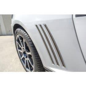 2010-2013 Camaro - Carbon Fiber Side Fender Vent Trim Kit