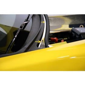 C6 2005-2013 Corvette Perforated Wiper Cowl Cover