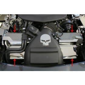 C6 ZR1 Corvette Engine Radiator Cover