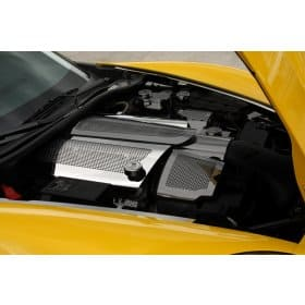 C6 Corvette Fuel Rail Covers Replacement Dry Sump