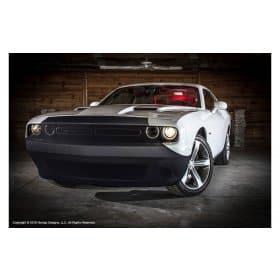 2008-2017 Dodge Challenger NoviStretch Front Bumper Mask Bra