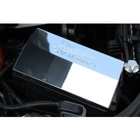 2010-2015 Camaro Billet Aluminum Fuse Box Cover